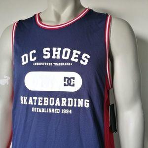 c902e531a8628 DC Shirts - DC Shoes Tank Top Mens Jersey NWT Medium